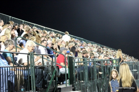 Stands are full!
