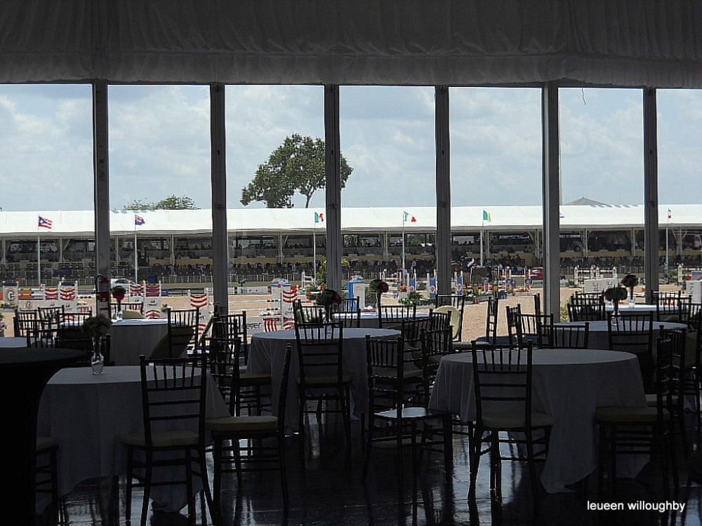 View of International Arena from the Wellington Club